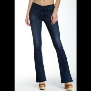Black Orchid MIA Mid Rise Skinny Flare Jeans sz 26